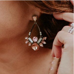 Park Lane Rose' Earrings